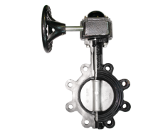 Catridged seat butterfly valve